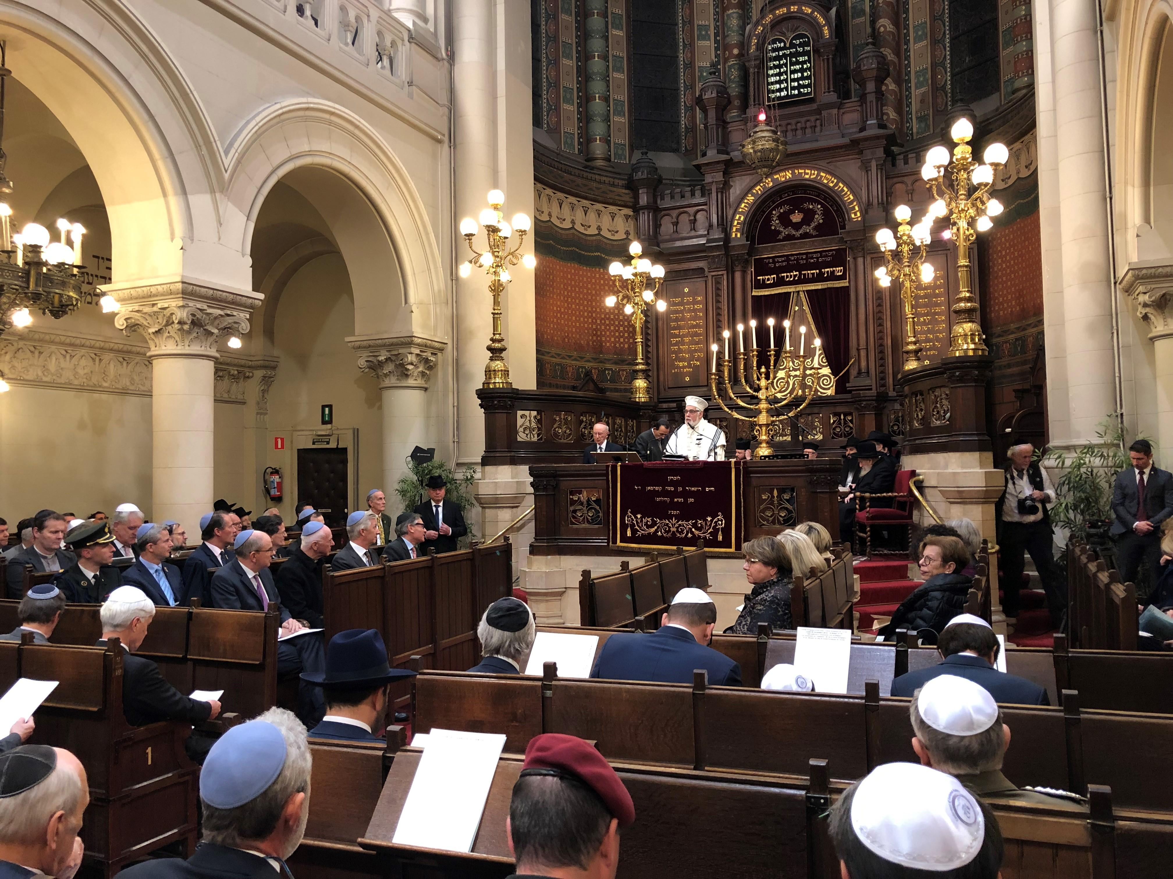 140 jaar Grote Synagoge Brussel © Tommy Scholtes