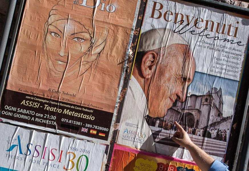 Assisi kijkt uit naar paus Franciscus © Sant'Egidio