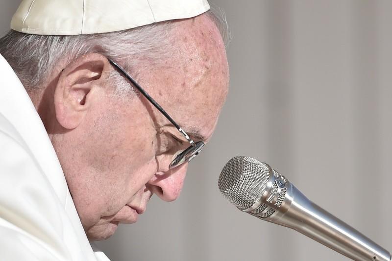 Paus Franciscus tijdens de algemene audiëntie © VaticanNews
