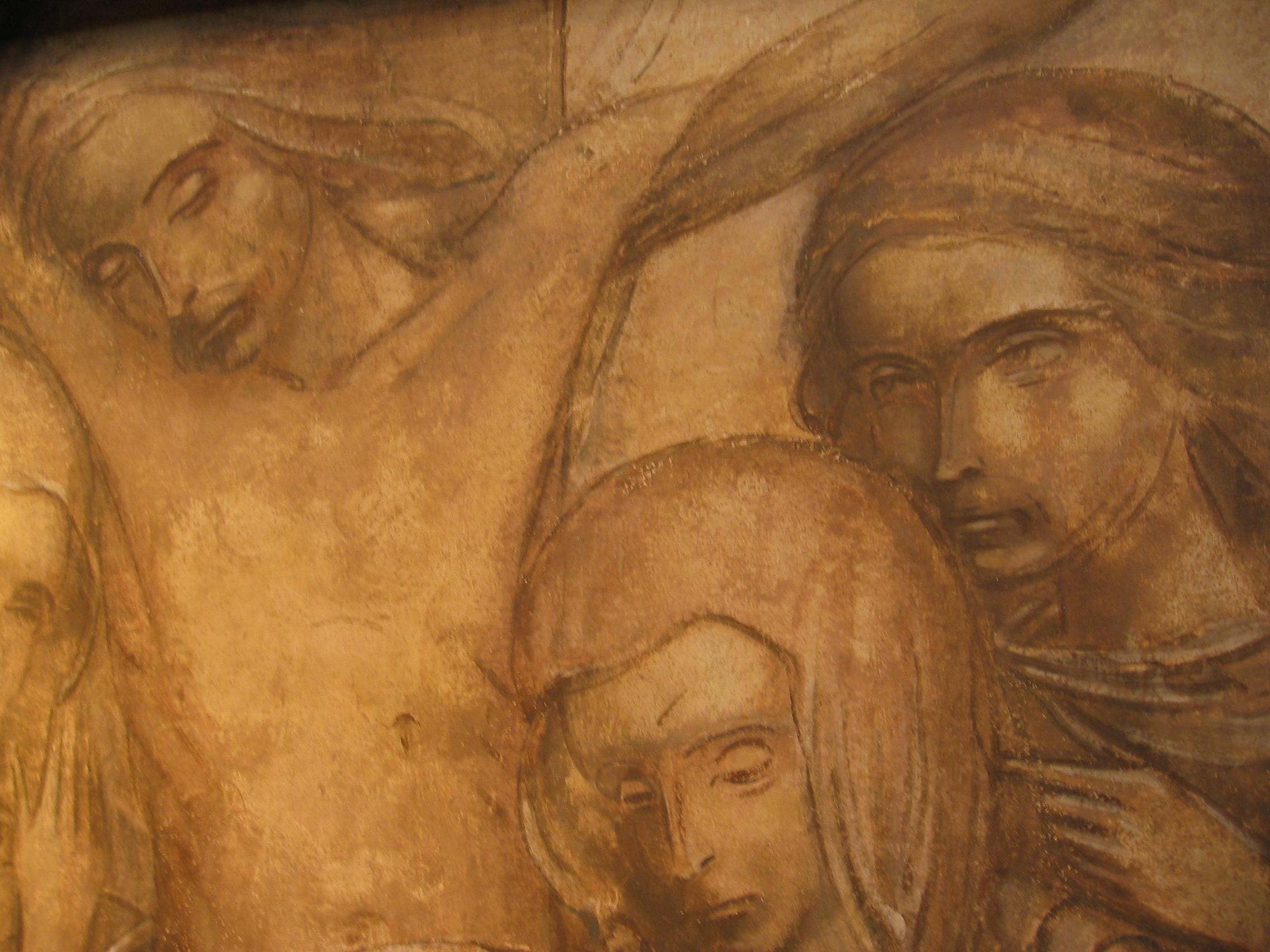 Jezus sterft aan een kruis © Joris Polfliet