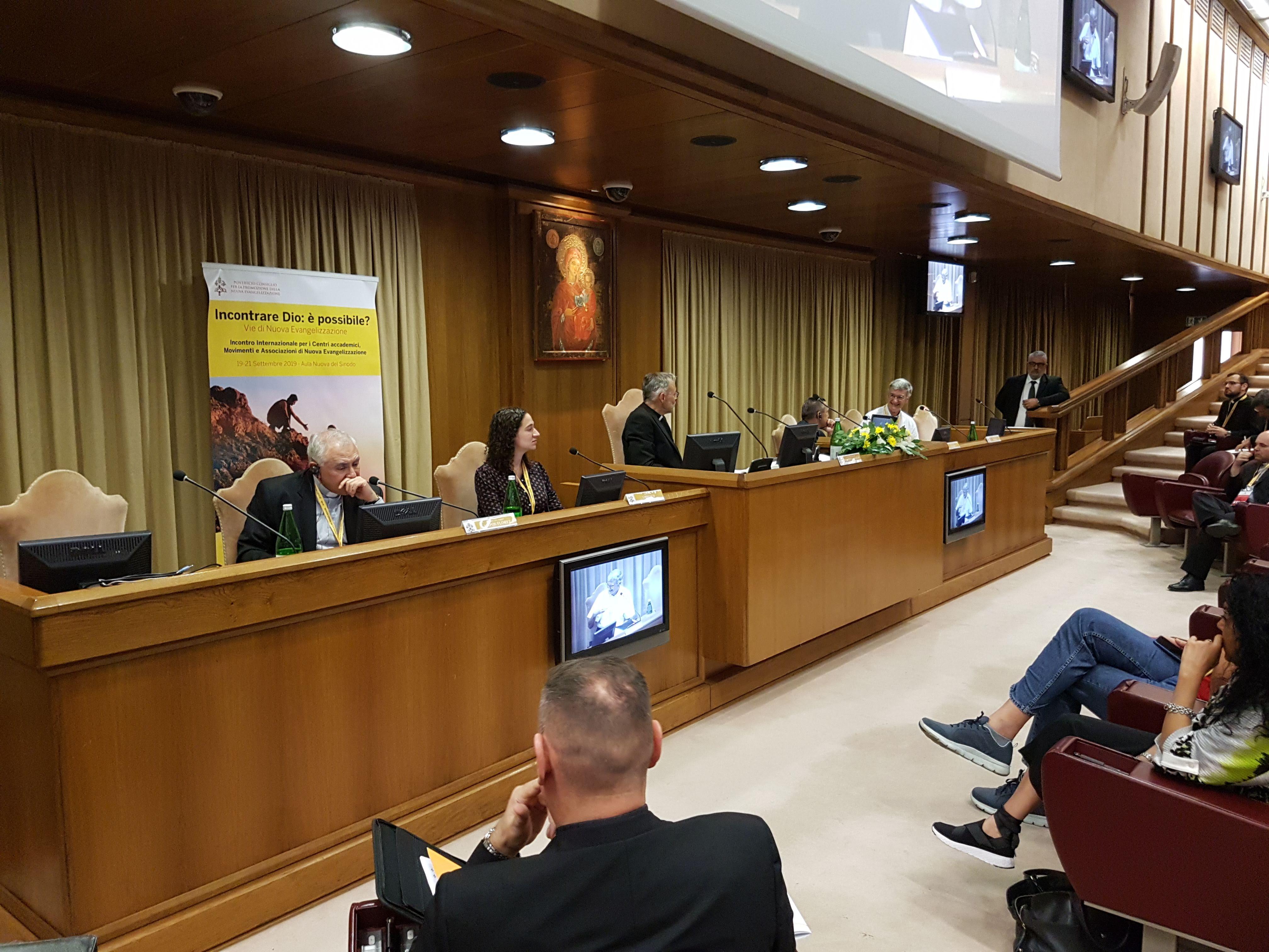 Congres: 'God ontmoeten: is het mogelijk?' Blog uit Rome © Stijn Van den Bossche