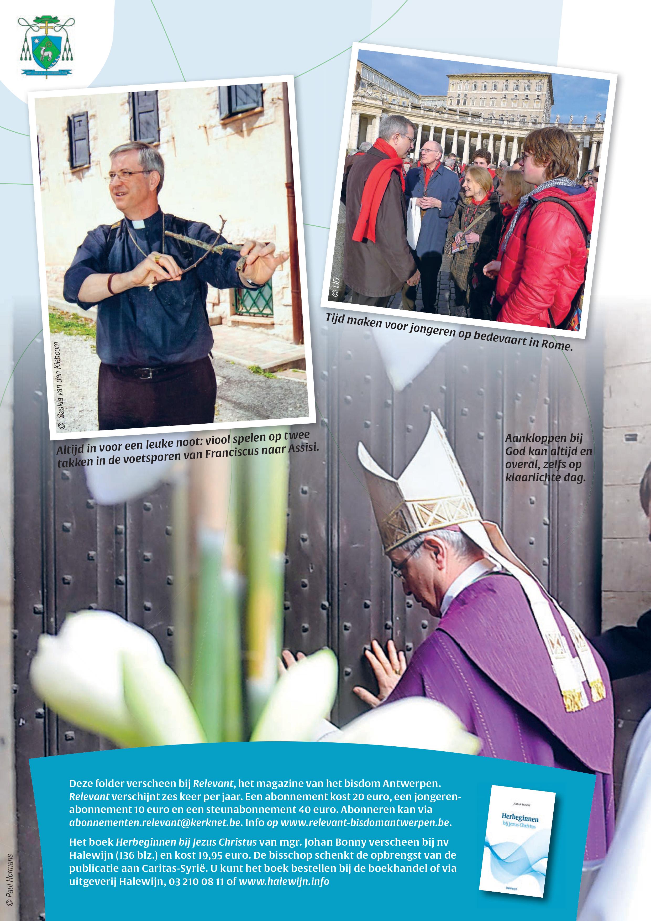 Mgr. Johan Bonny 10 jaar bisschop © Relevant