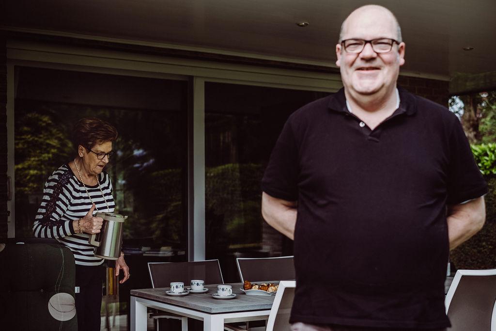 Johan Loones: 'Mensen een thuis geven, daar gaat het voor mij om.' © Wouter Maeckelberghe