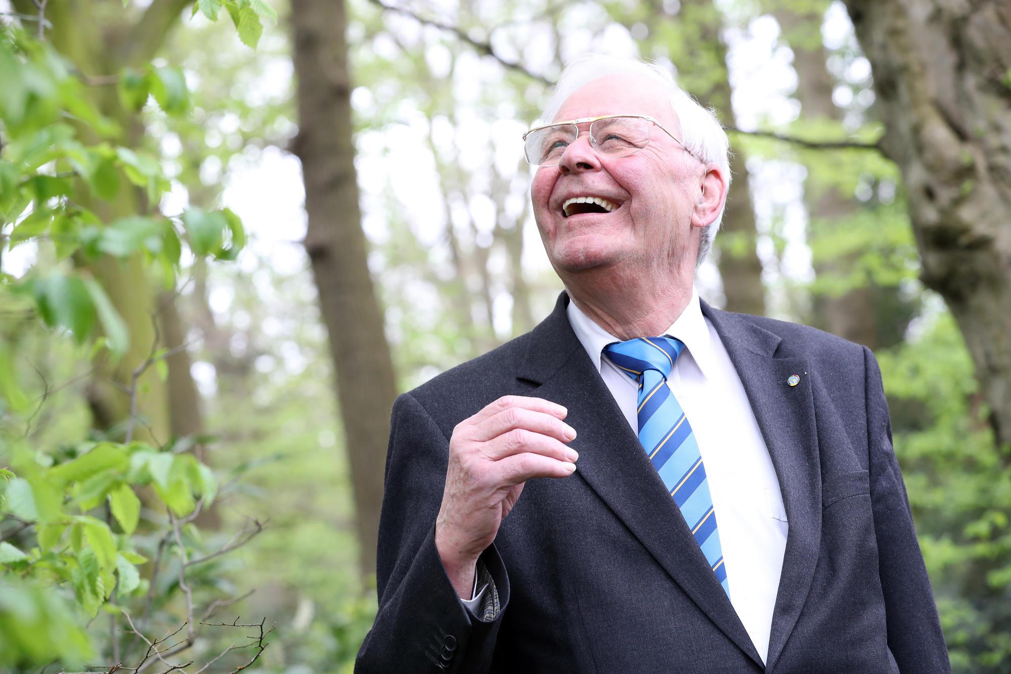 Paul De Broe, afscheidsnemend voorzitter Blindenzorg Licht en Liefde © Kristof Ghyselinck