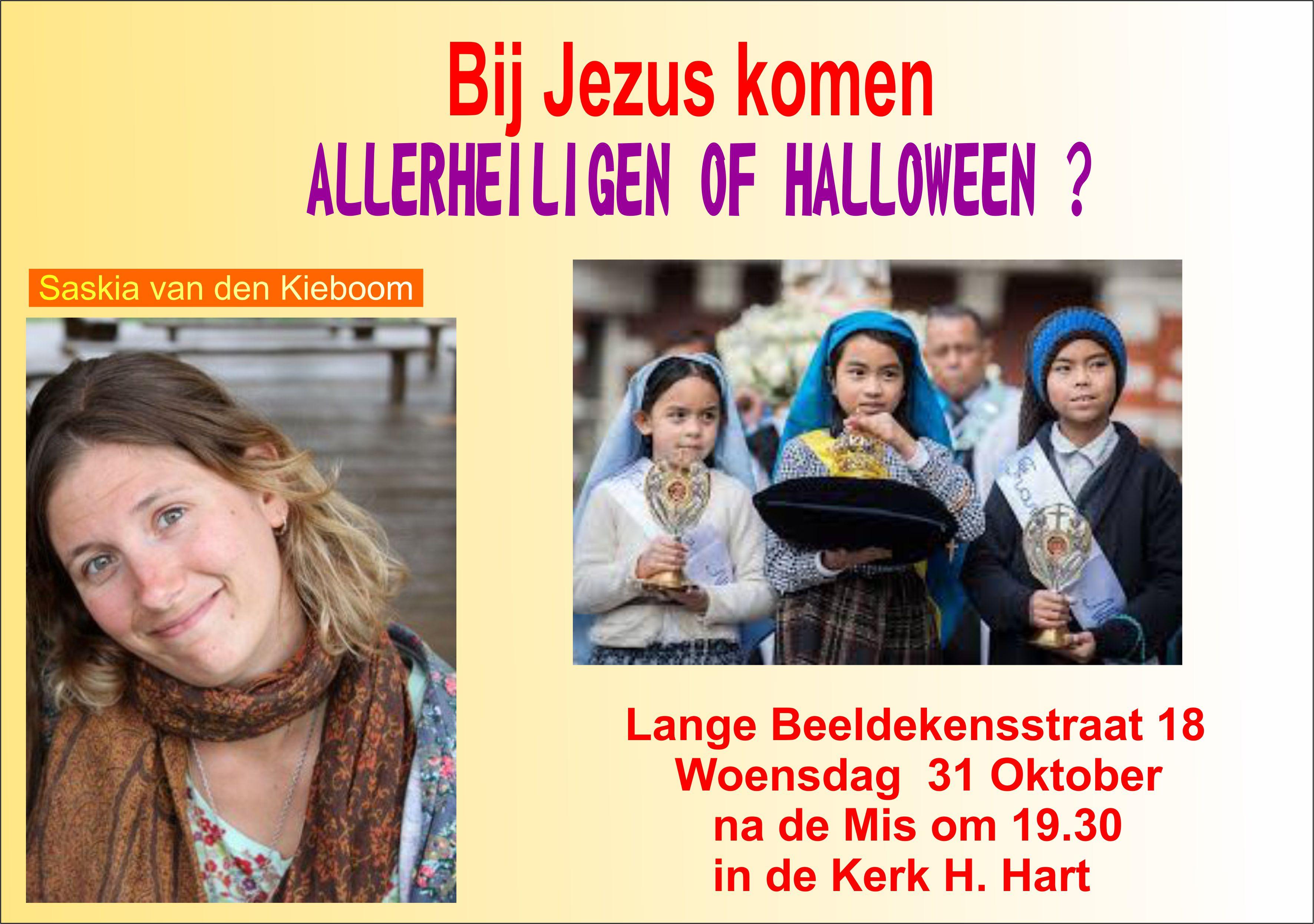 Allerheiligen of Halloween?