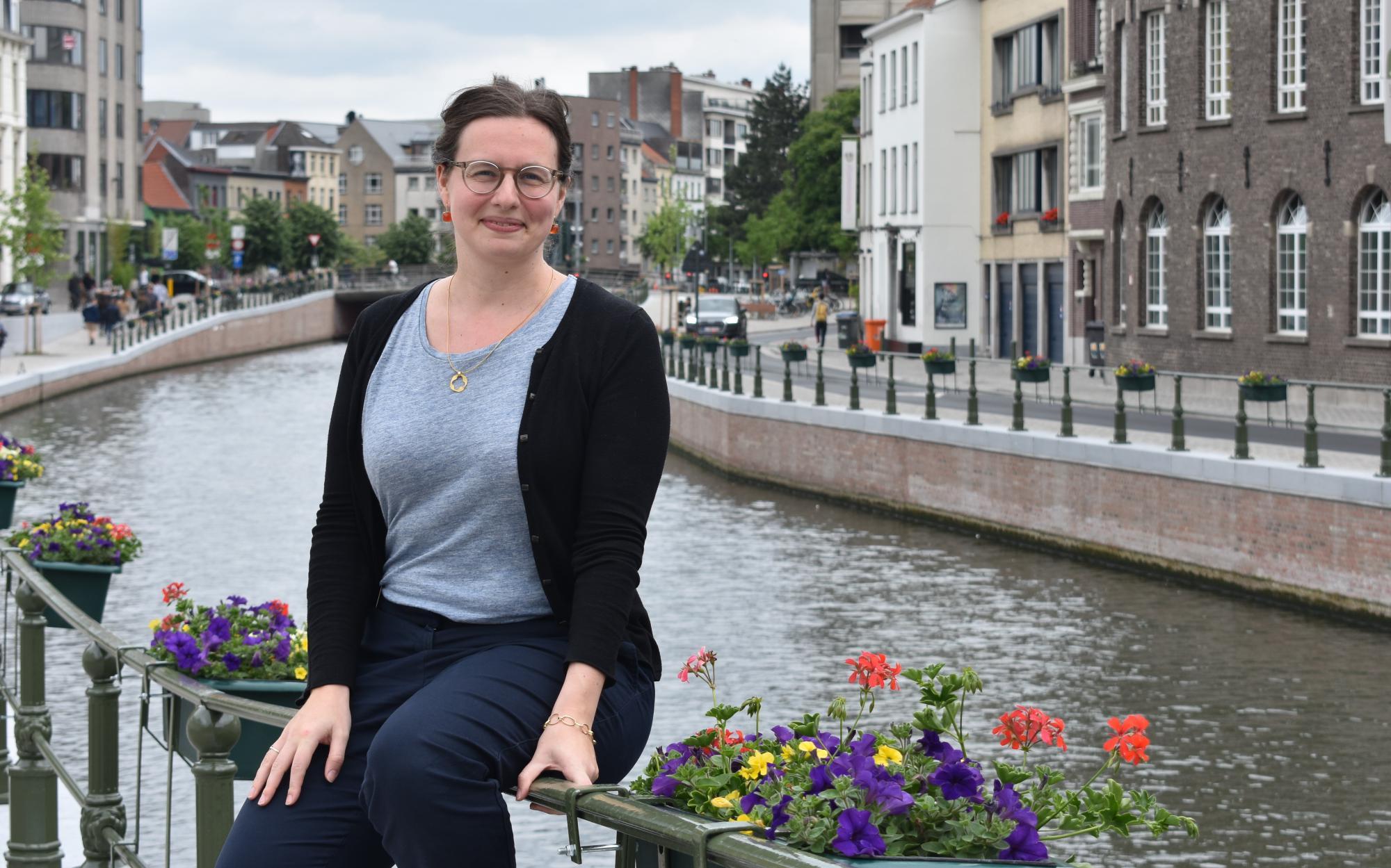 Anaïs Fayt is de nieuwe directeur van IJD Jongerenpastoraal Vlaanderen © Aagje Van Impe