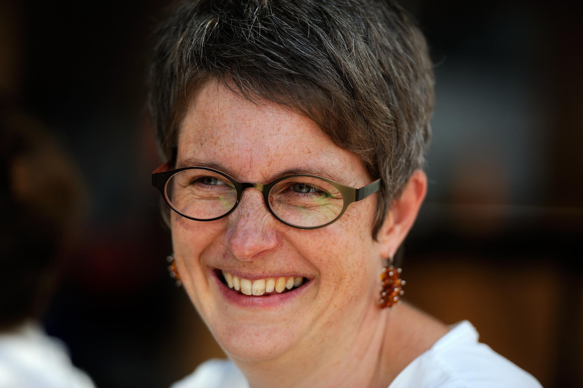 Barbara Focquaert gemeenschapsverantwoordelijke van De Ark Gent  © RR/Tertio