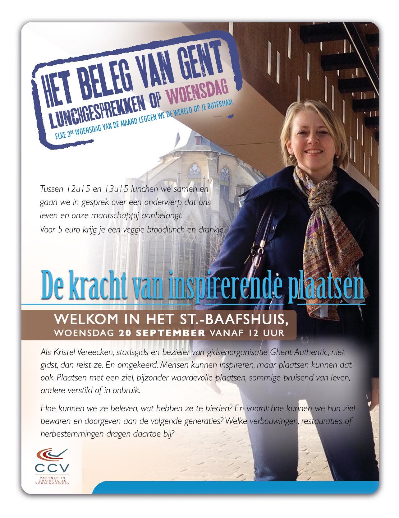 Kristel Vereecken - Beleg van Gent - 20 september © CCV in het bisdom Gent