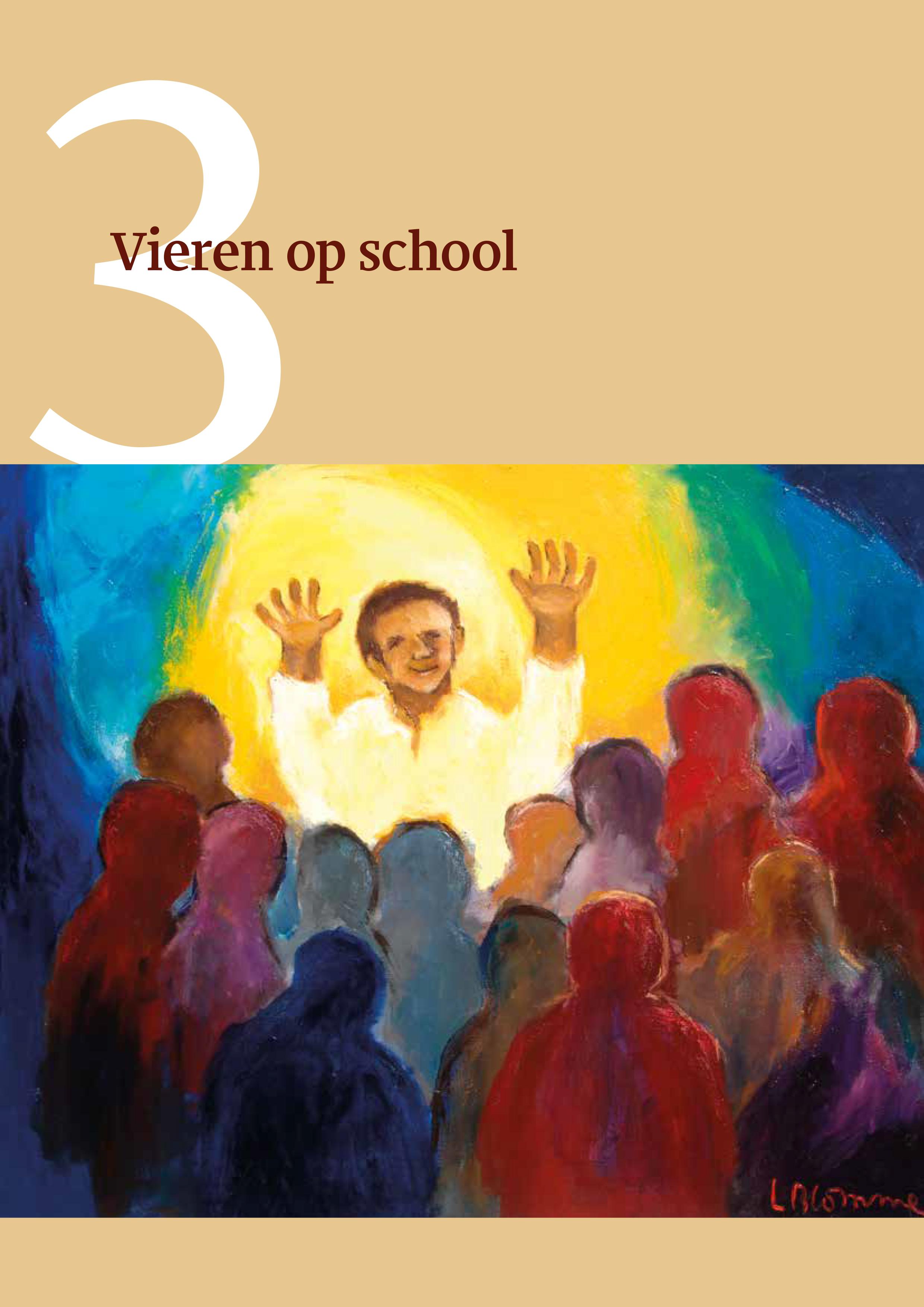 Vieren op school cover © bisdom Antwerpen