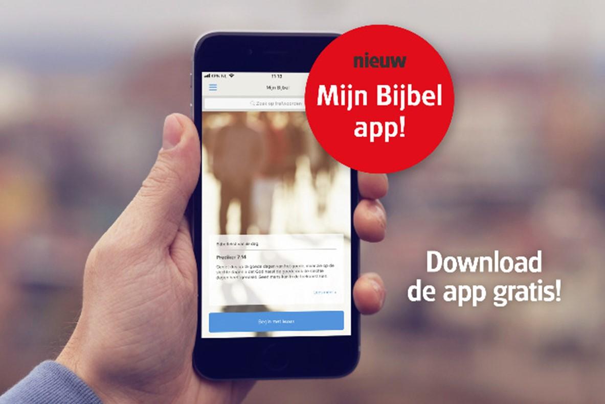 De nieuwe Bijbelapp van het Nederlandse Bijbelgenootschap © NBG