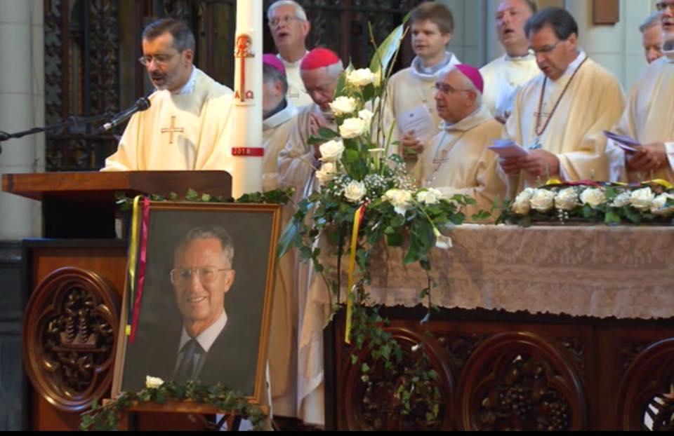 De gedachtenisviering voor koning Boudewijn in de Onze-Lieve-Vrouwekerk van Laken © IPID