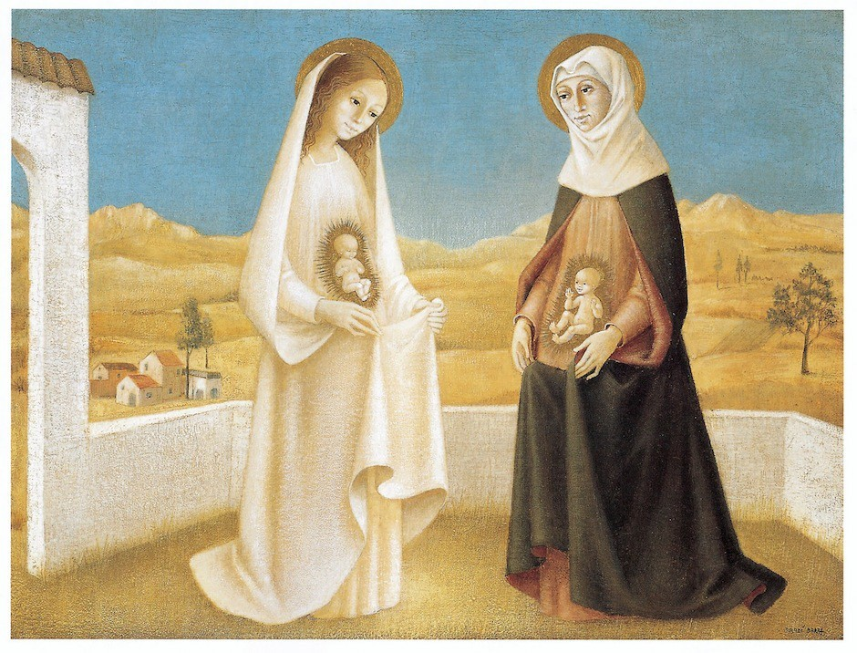 Bradi Barth: Maria en Elisabet