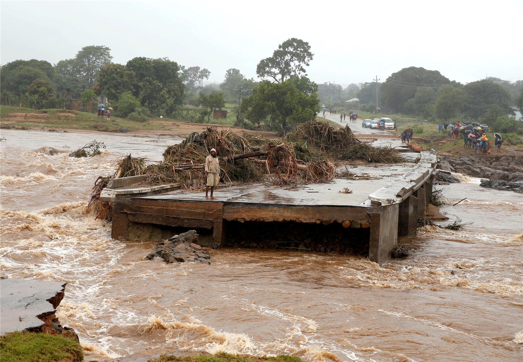 Na de doortocht van de orkaan Idai © Caritas International