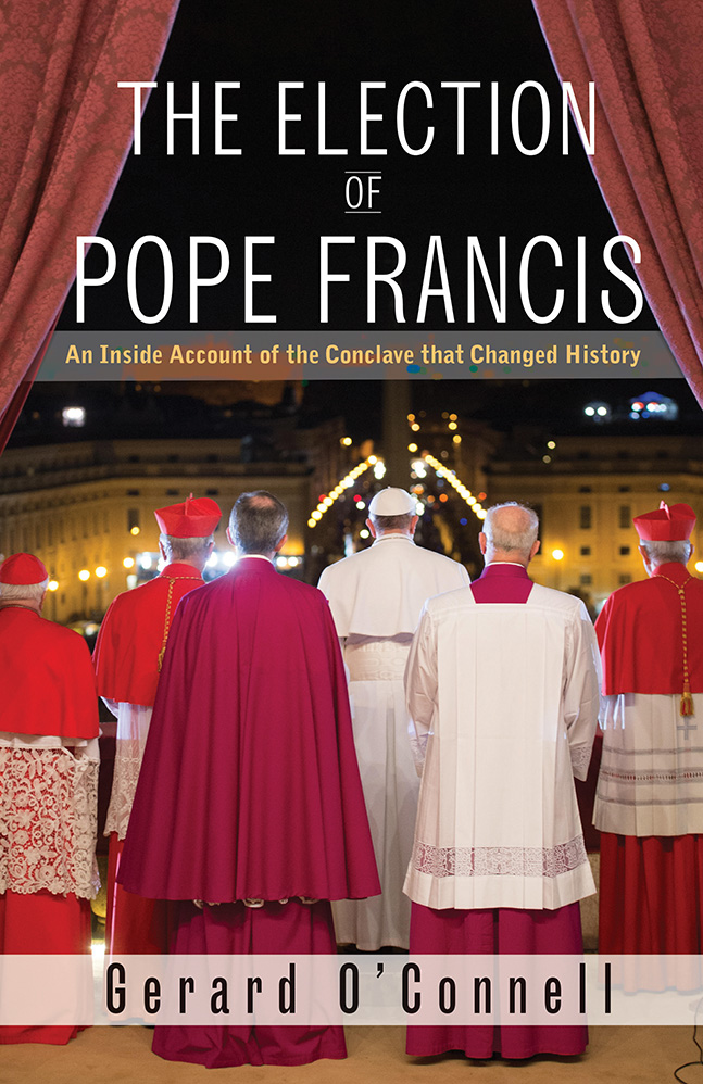 Gerard O'Connell, The Election of Pope Francis, An Inside Account of the Conclave That Changed History, Orbis Books, Maryknoll, New York, 306 blz.  © RR/Tertio