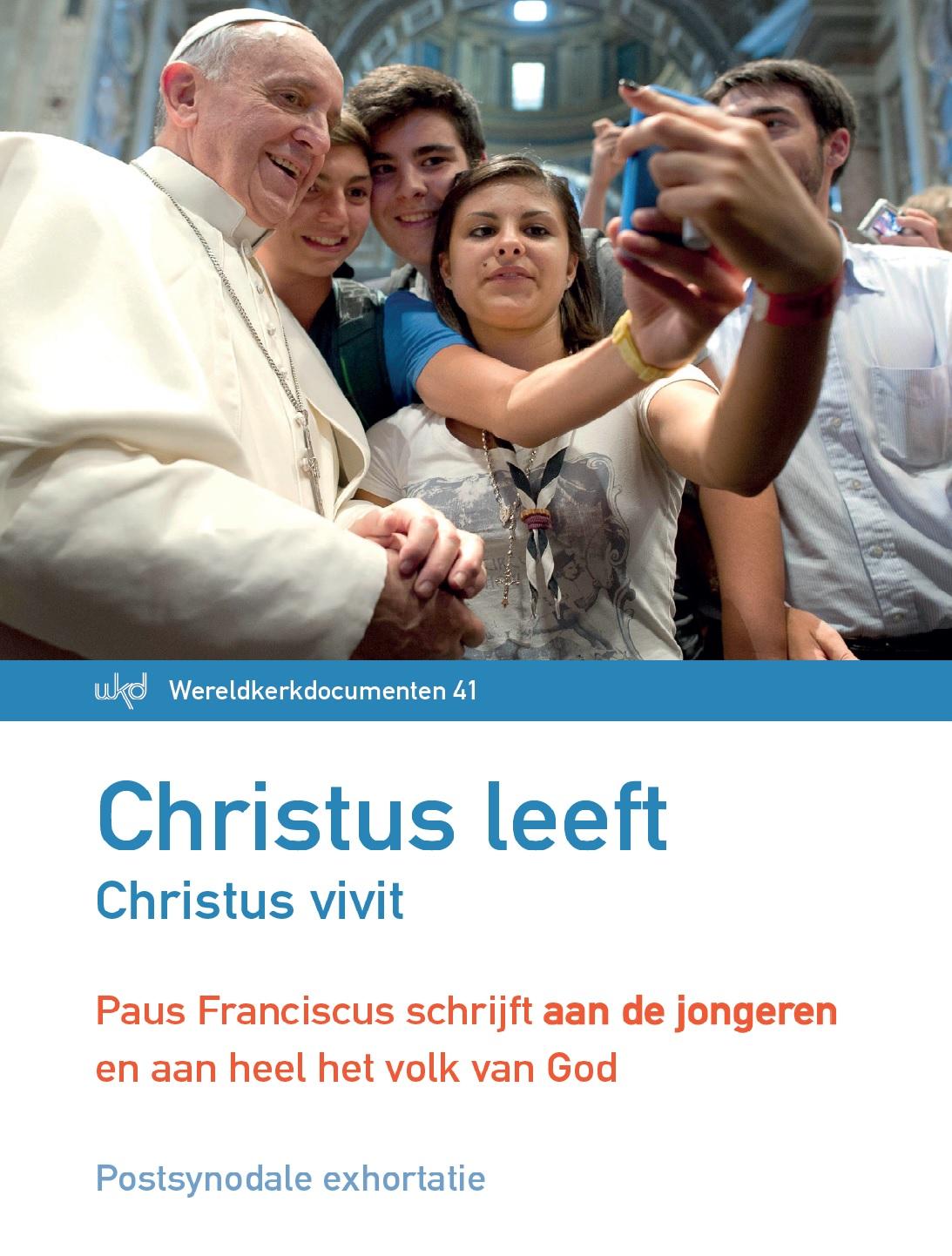 Christus leeft - Christus vivit. Aan de jongeren en aan heel het volk van God, postynodale exhortatie van paus Franciscus © Licap - IPID