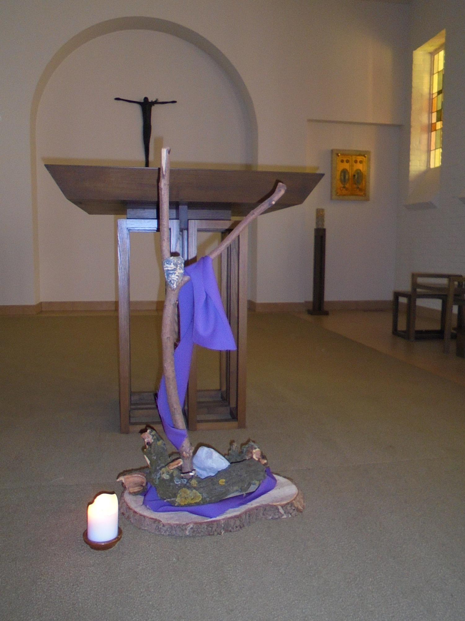 Goede Vrijdag in de kapel van Rabboeni © zrs bernardinnen
