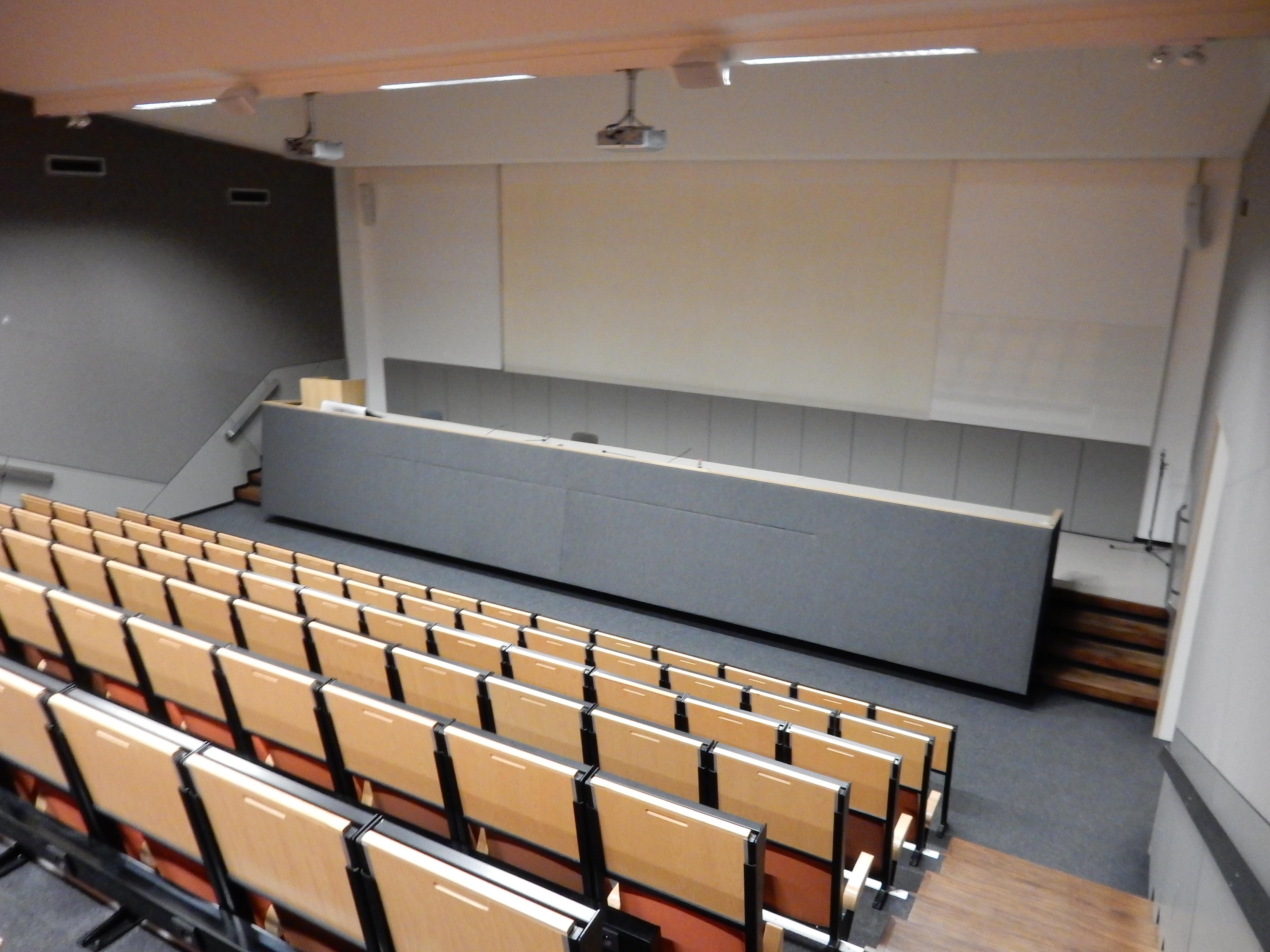 Auditorium van het TPC Antwerpen © TPC Antwerpen