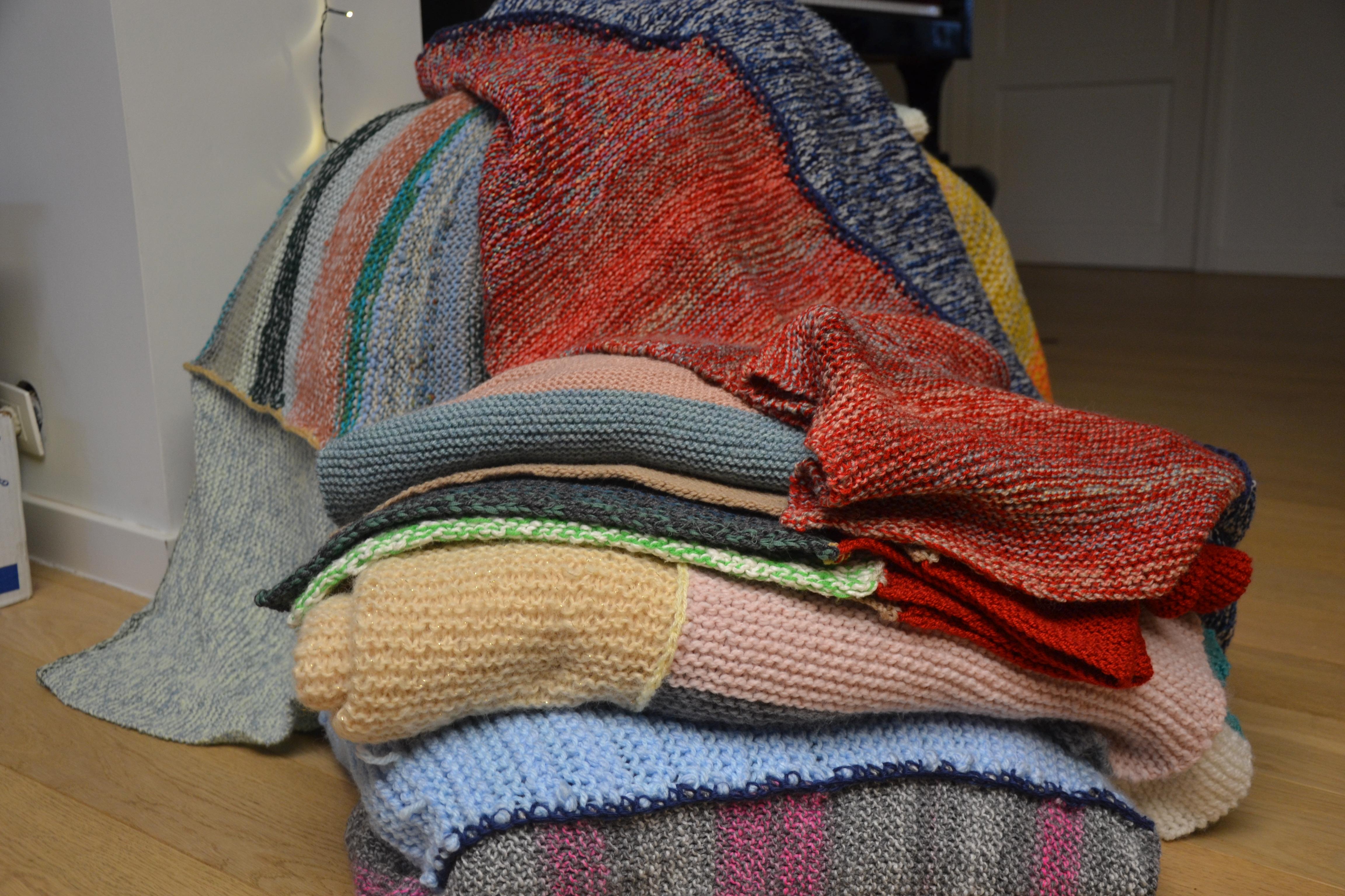 Van sjaal tot dekens © Karen Devroe