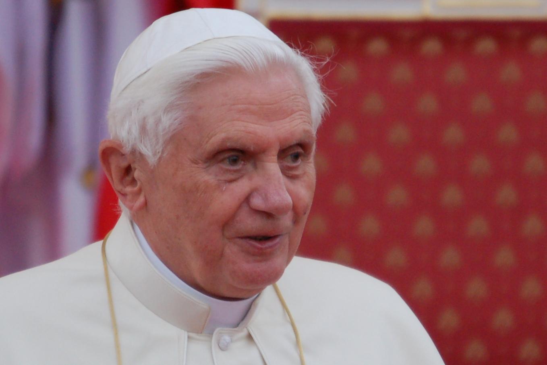 Paus Benedictus XVI © Philippe Keulemans