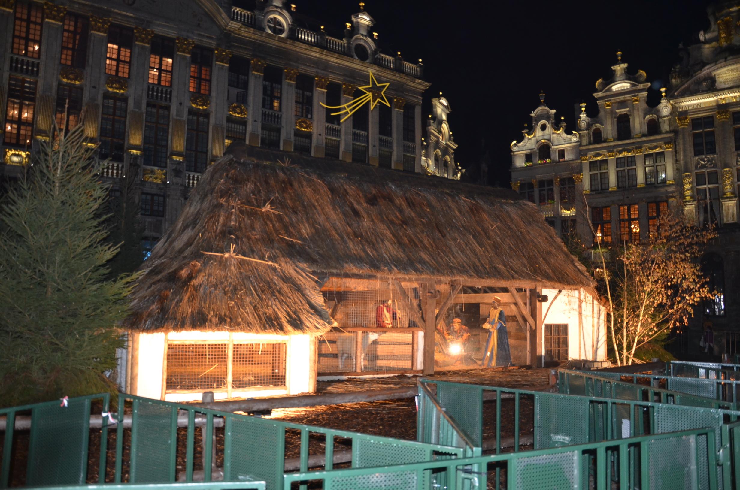 Kerststal Grote Markt © Hellen Mardaga