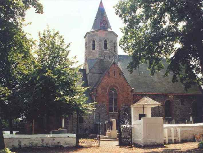 Kerk van Daknam © www.ontdekhetwaasland.be