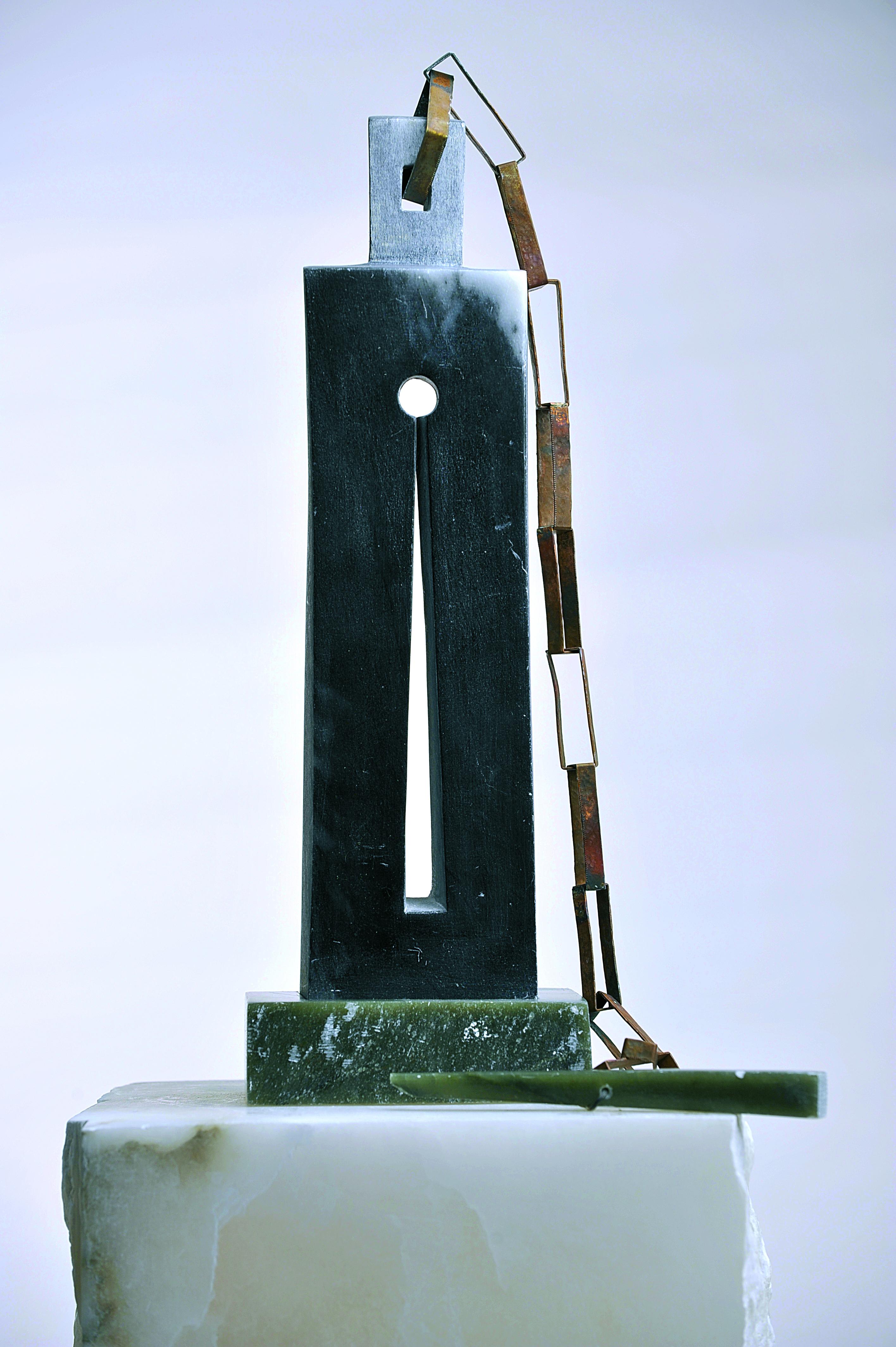 'Petrus' banden' van Désirée Verstraete, lerares plastische opvoeding en ontwerpster. © Halewijn