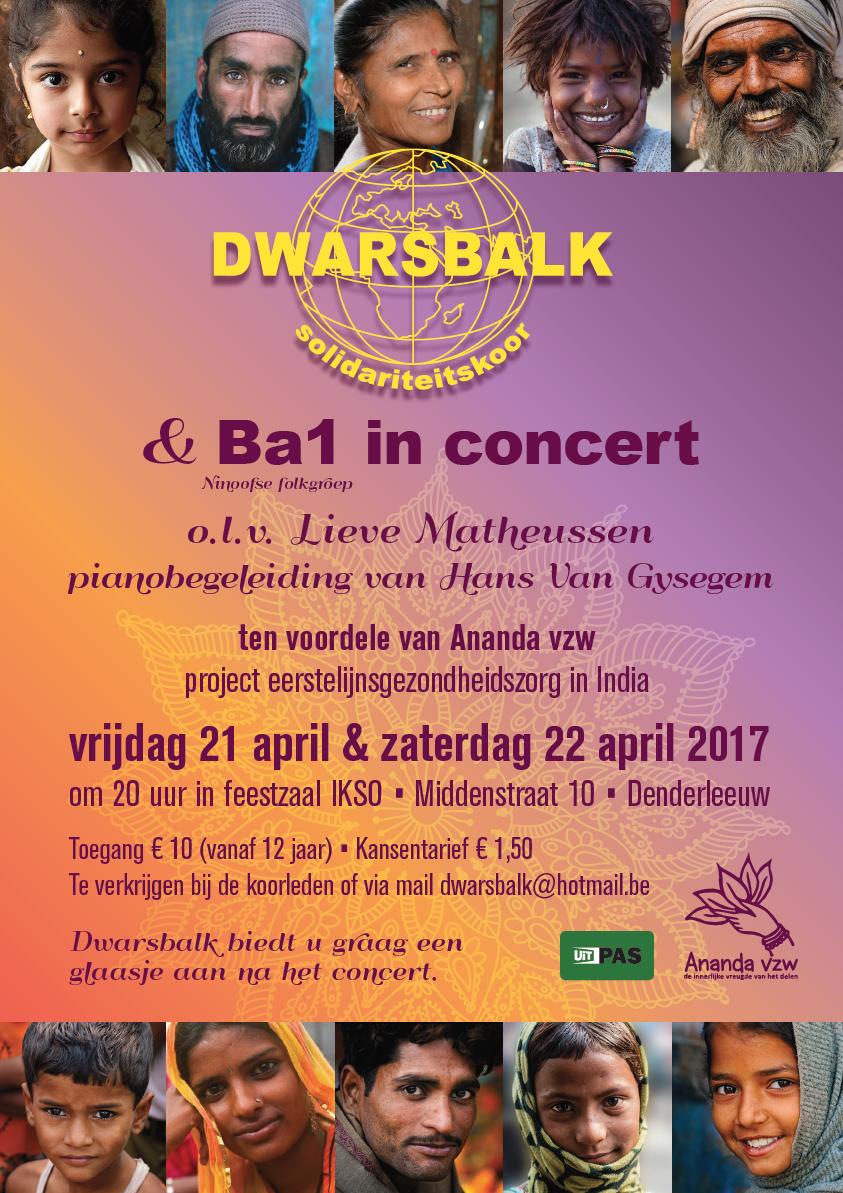 Solidariteitskoor & Ba1 in concert