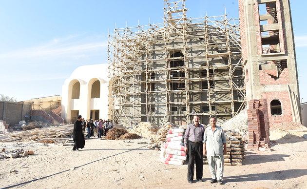 De kerk voor 21 Koptische martelaren © Fides