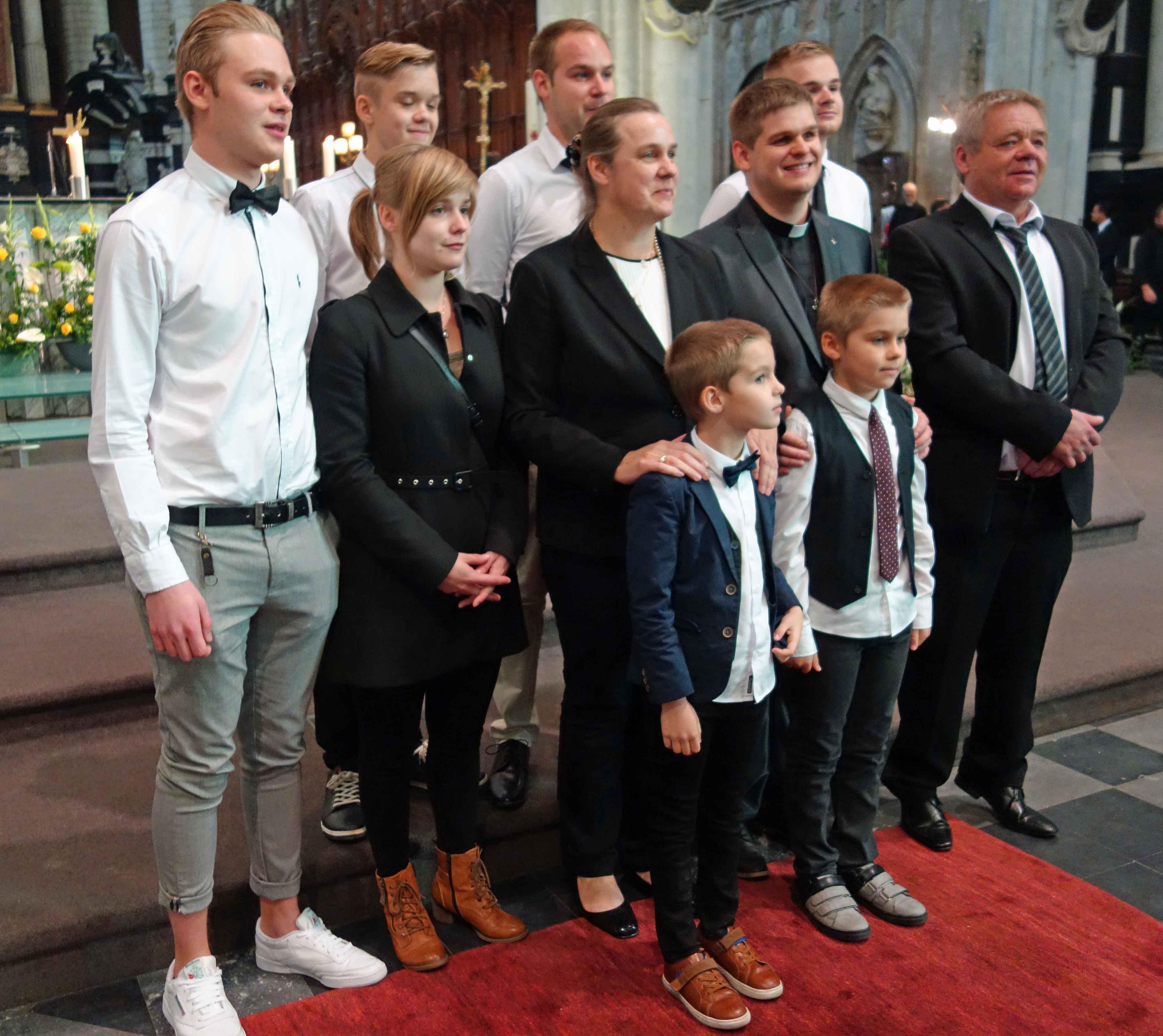 Het gezin Cantaert
