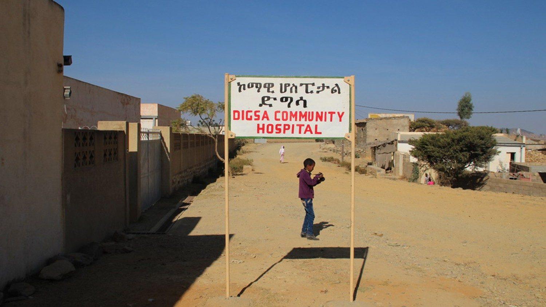 Een van de 22 katholieke ziekenhuizen in Eritrea die in opdracht van de overheid onlangs werden gesloten © VaticanMedia