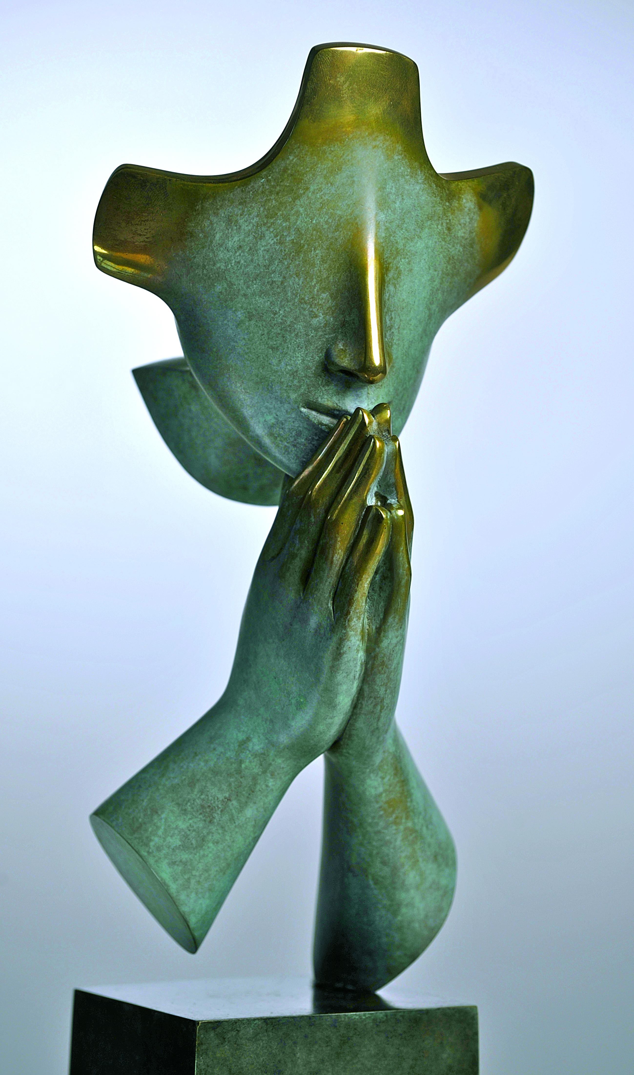 'Het kleine gebed' van Etienne Pirot, zoon van Arcabas, een andere geliefde kunstenaar van kardinaal Danneels. © Halewijn