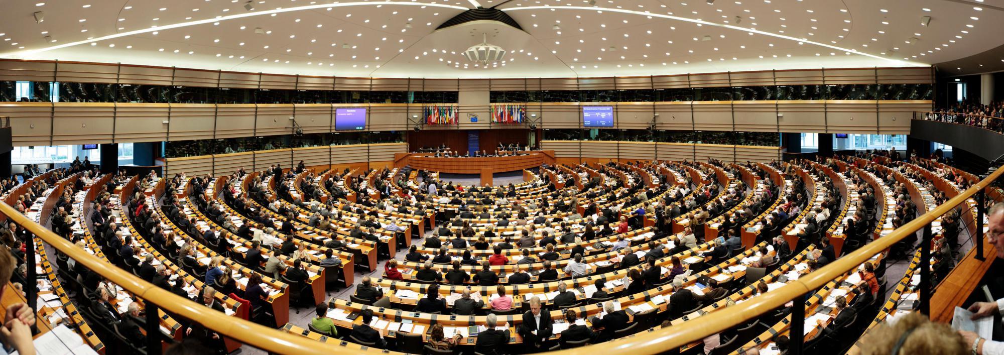 Het Europese Parlement © Persdienst EP