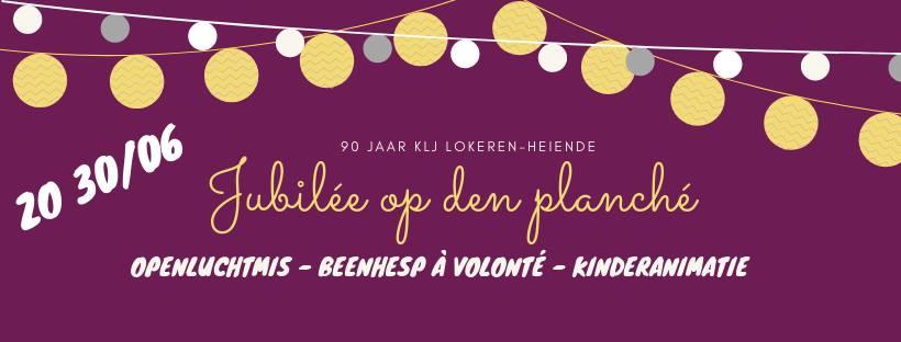 KLJ Lokeren-heiende blaast 90 kaarsjes uit © http://kljlokerenheiende.be/