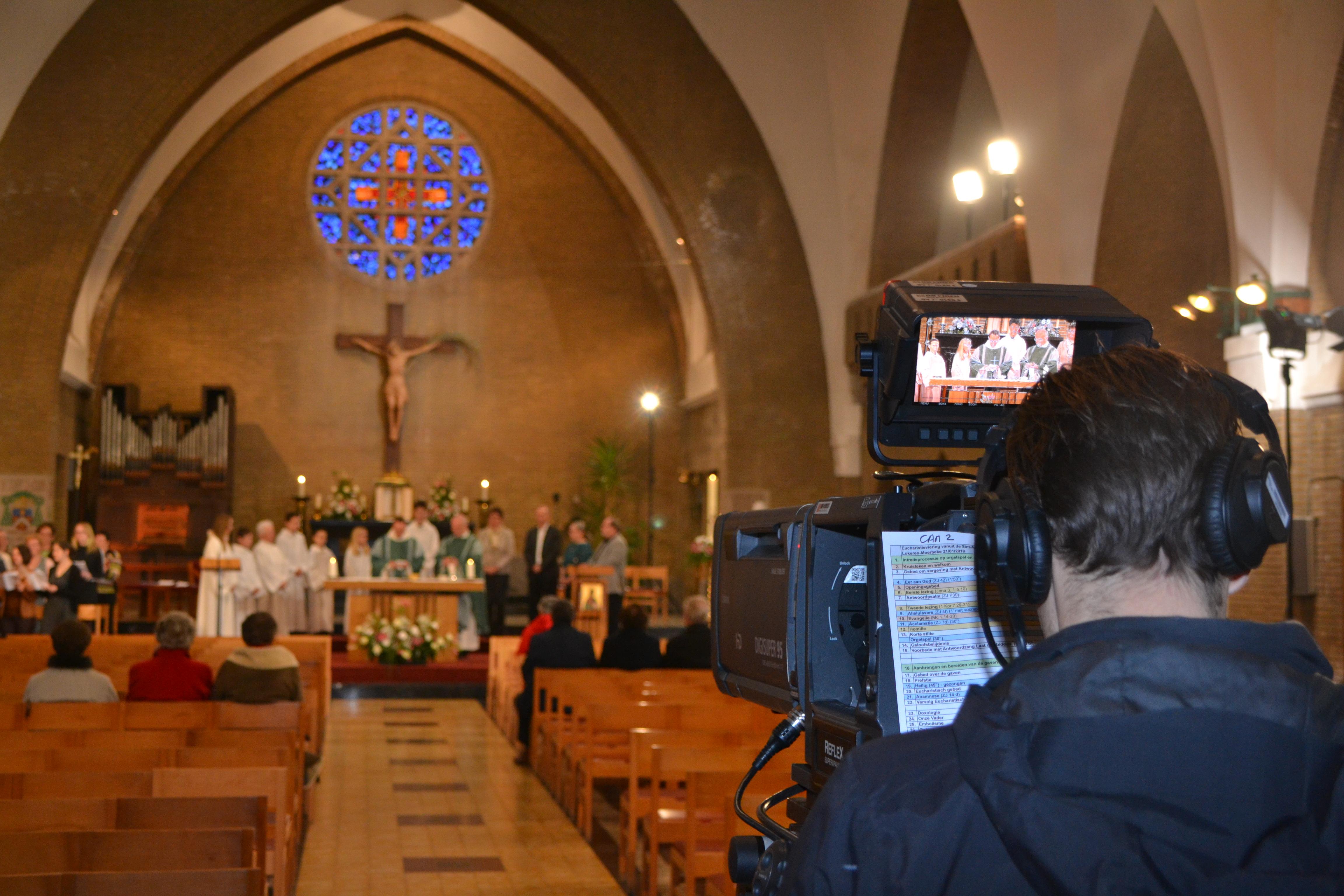 Dank voor de intense zondag met een parochieviering vanuit Lokeren-Moerbeke © Geert Defauw