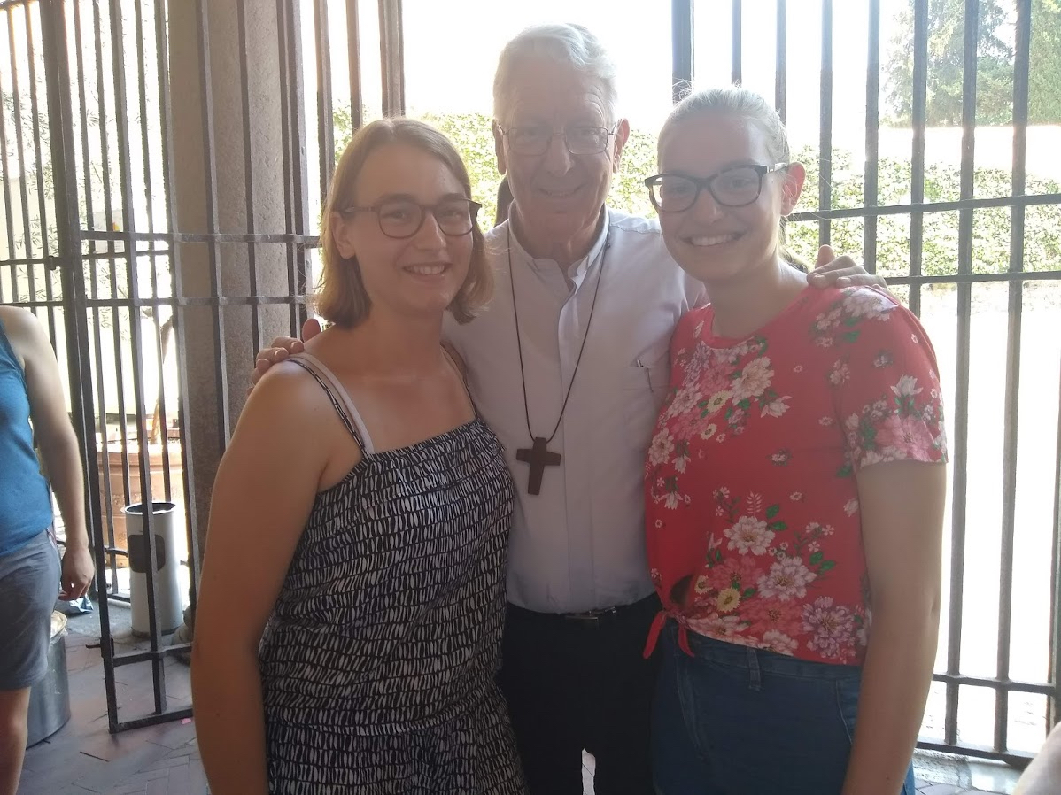 Ook monseigneur Luc Van Looy was in Rome.