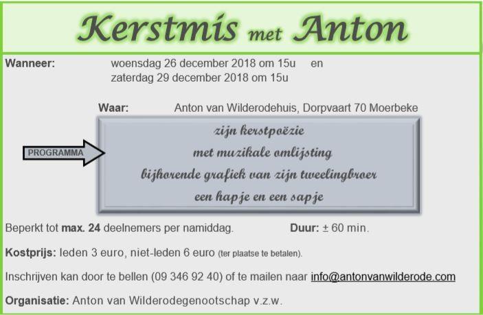Kerstmis met Anton