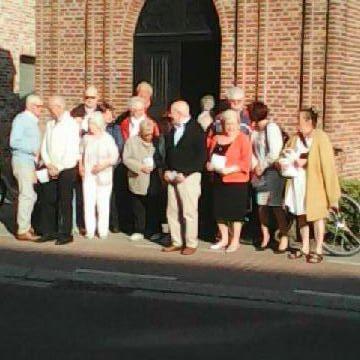 Ook de kapel op het Oost Eindeken wordt in de meimaand regelmatig bezocht