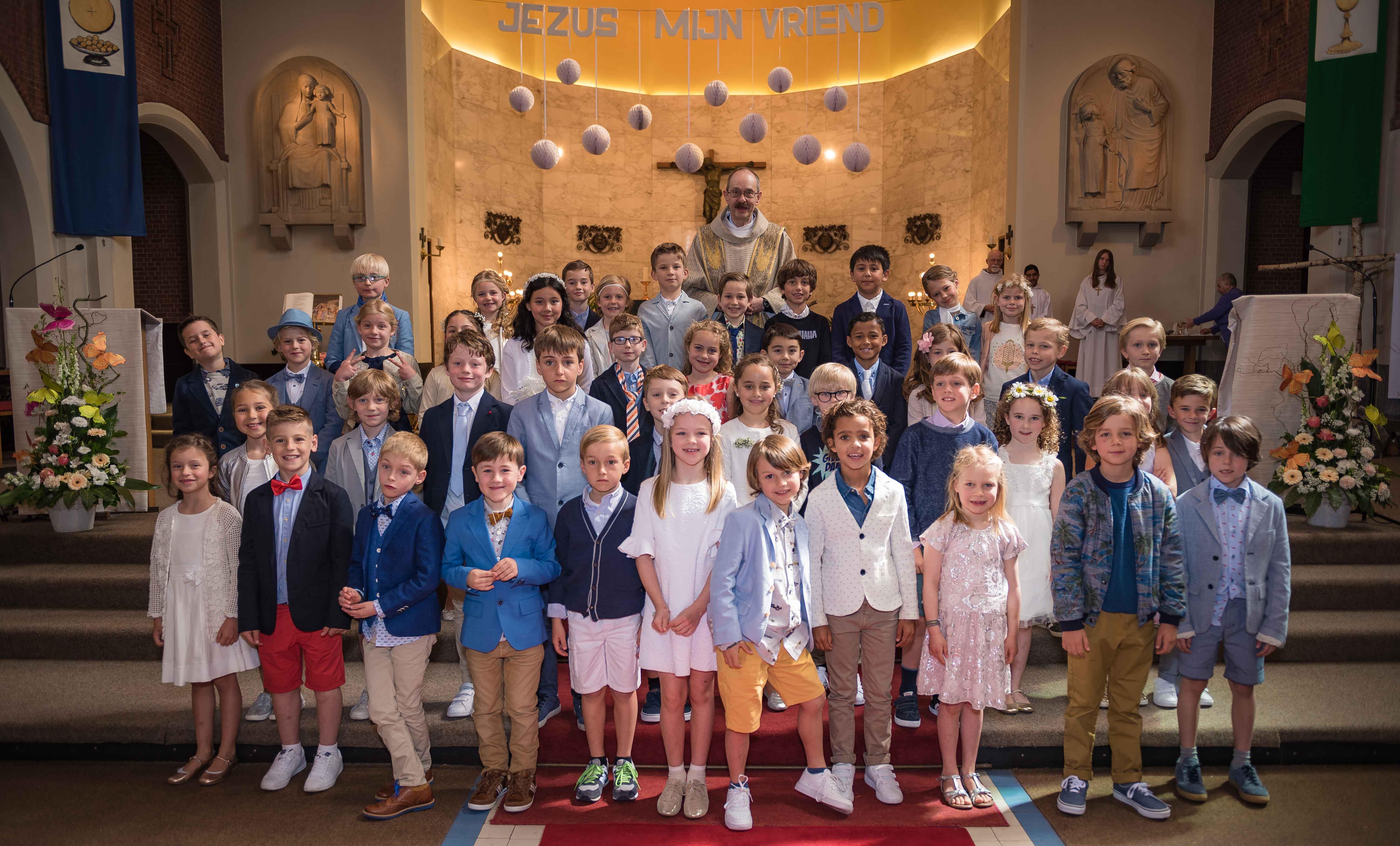 eerste communie 2017 © Wim Duysburgh