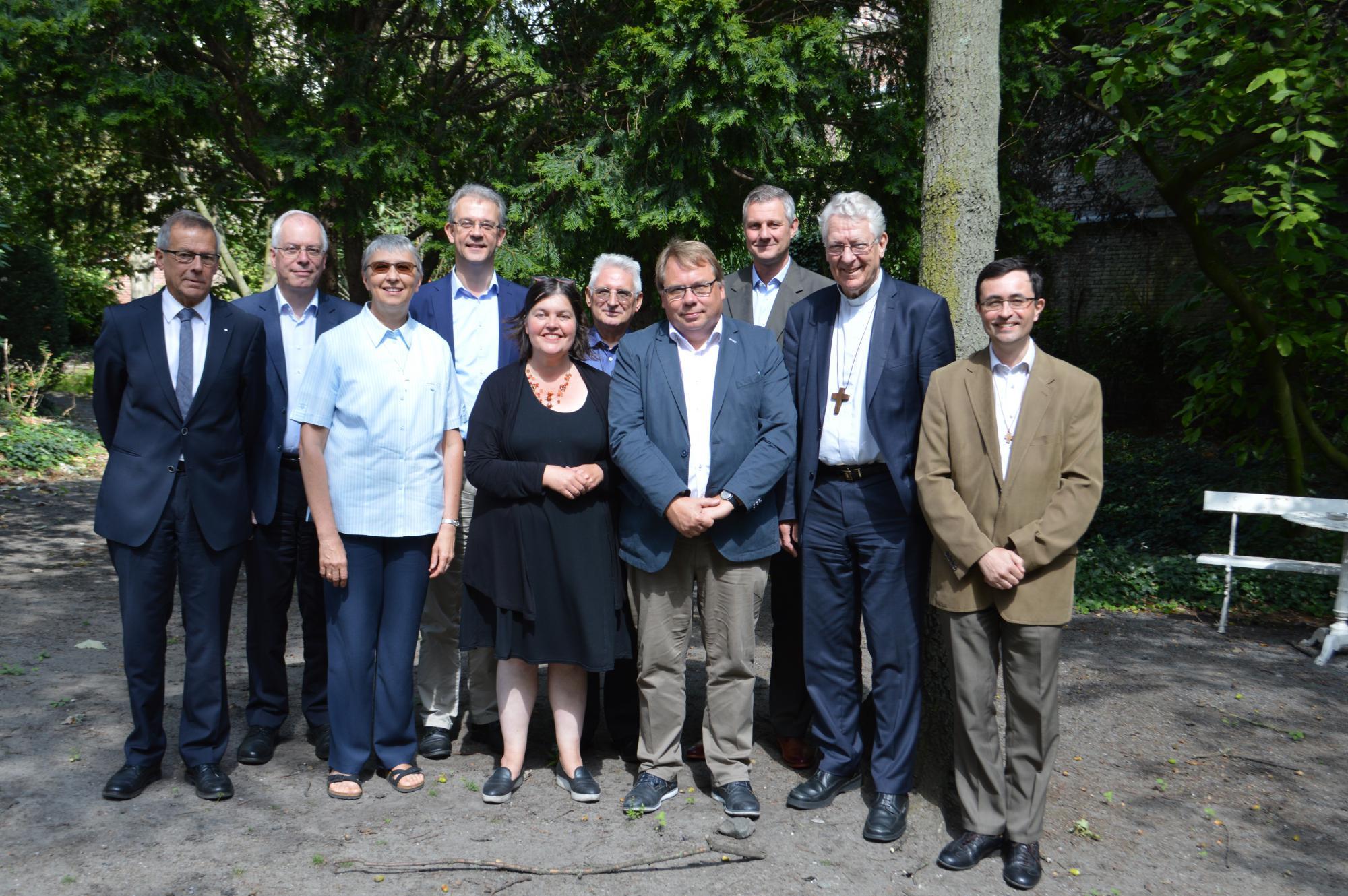 Bisschopsraad bisdom Gent vanaf 1 september 2017 © Bisdom Gent, foto: Claire-Marie Cloquet