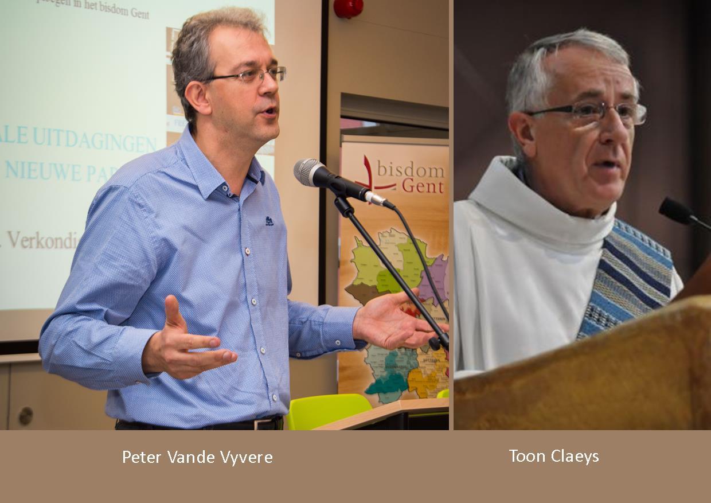 Benoemingen in het vicariaat diaconie en caritas © Bisdom Gent, foto: Karel Van de Voorde - Dekenaat Wetteren