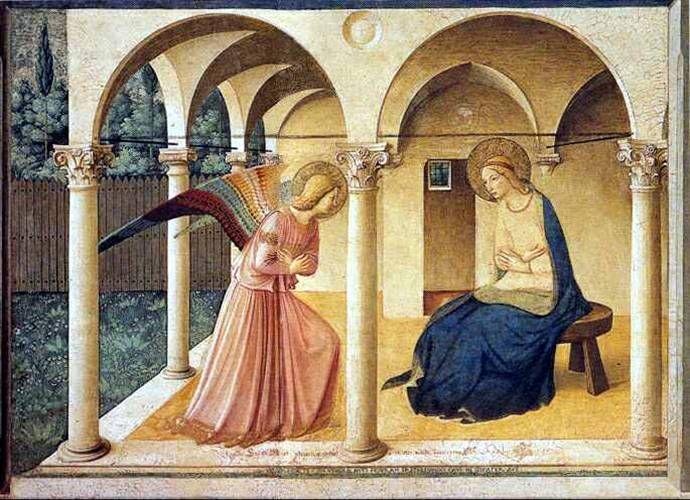 Fra Angelico: Annunciatie
