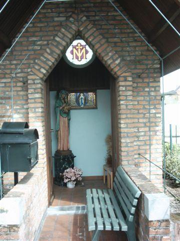 Kapel aan wijk De Ratte in Zaffelare © BavoPar