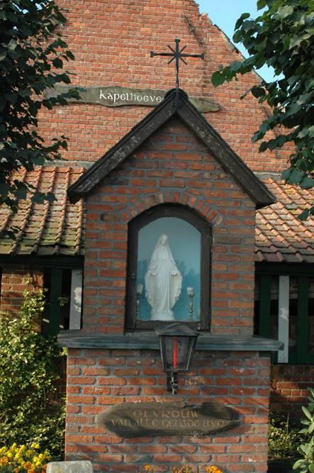 Kapelhoeve Nieuwpoortstraat Zeveneken © PM