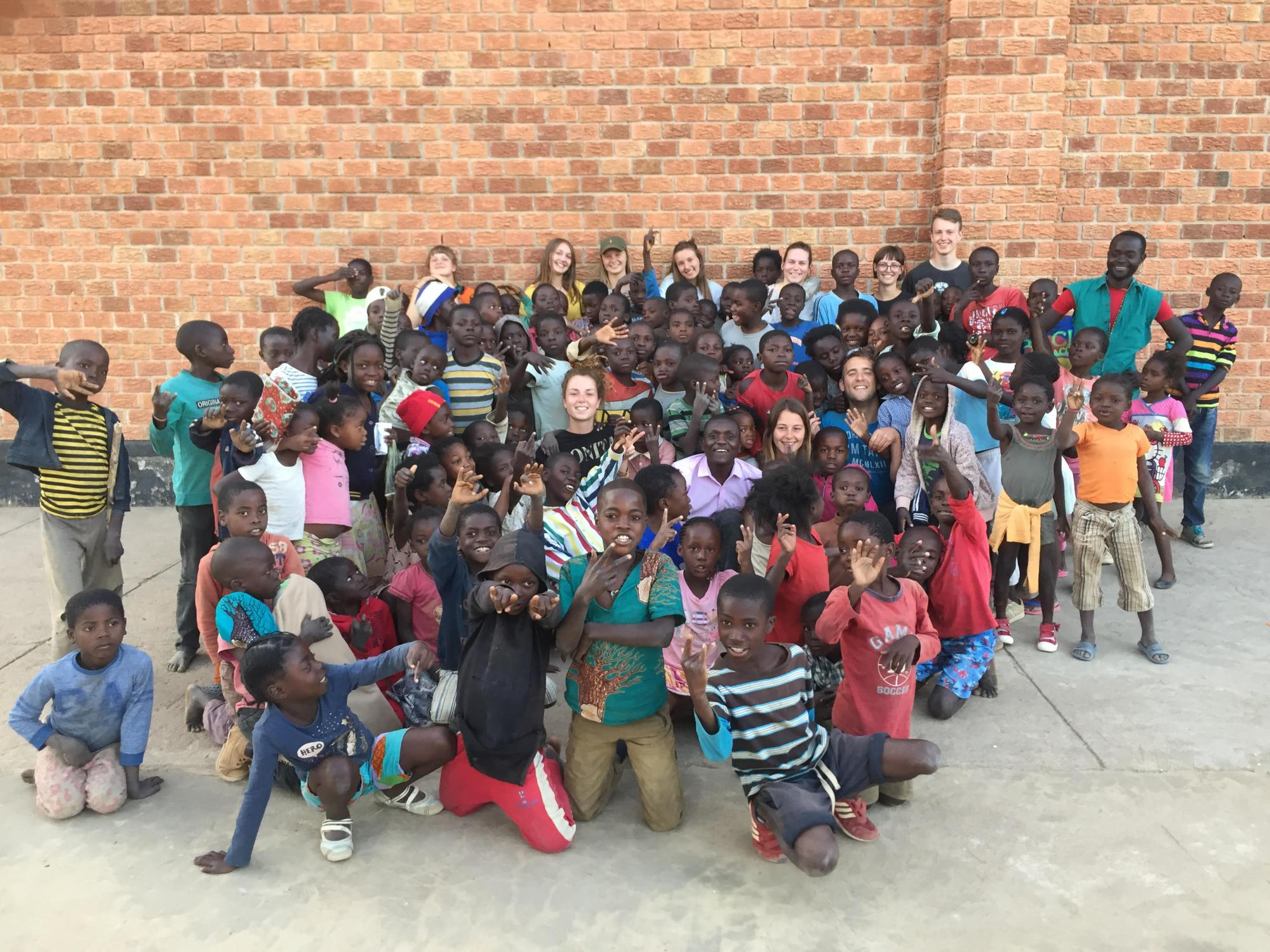 Inleefproject Zambia. © Team Zambia