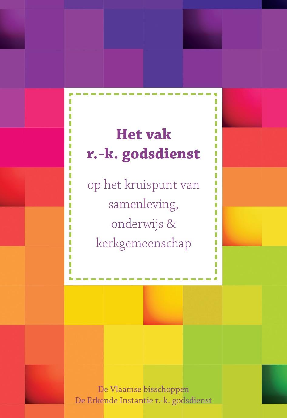 Cover van de nieuwe brochure van de Vlaamse bisschoppen en de Erkende Instantie rooms-katholieke godsdienst © IPID