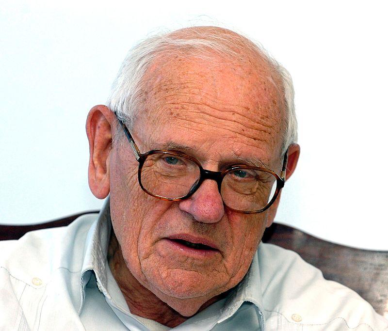 Kanunnik François Houtart  © Roosewelt Pinheiro/Wikipedia