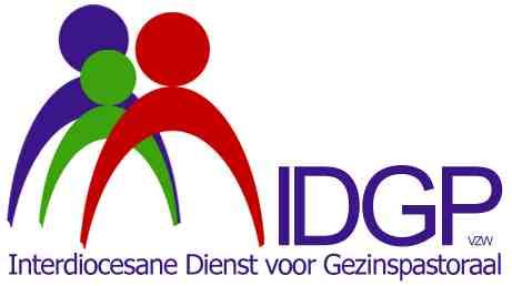 Logo van de Interdiocesane Dienst voor Gezinspastoraal vzw © IDGP vzw