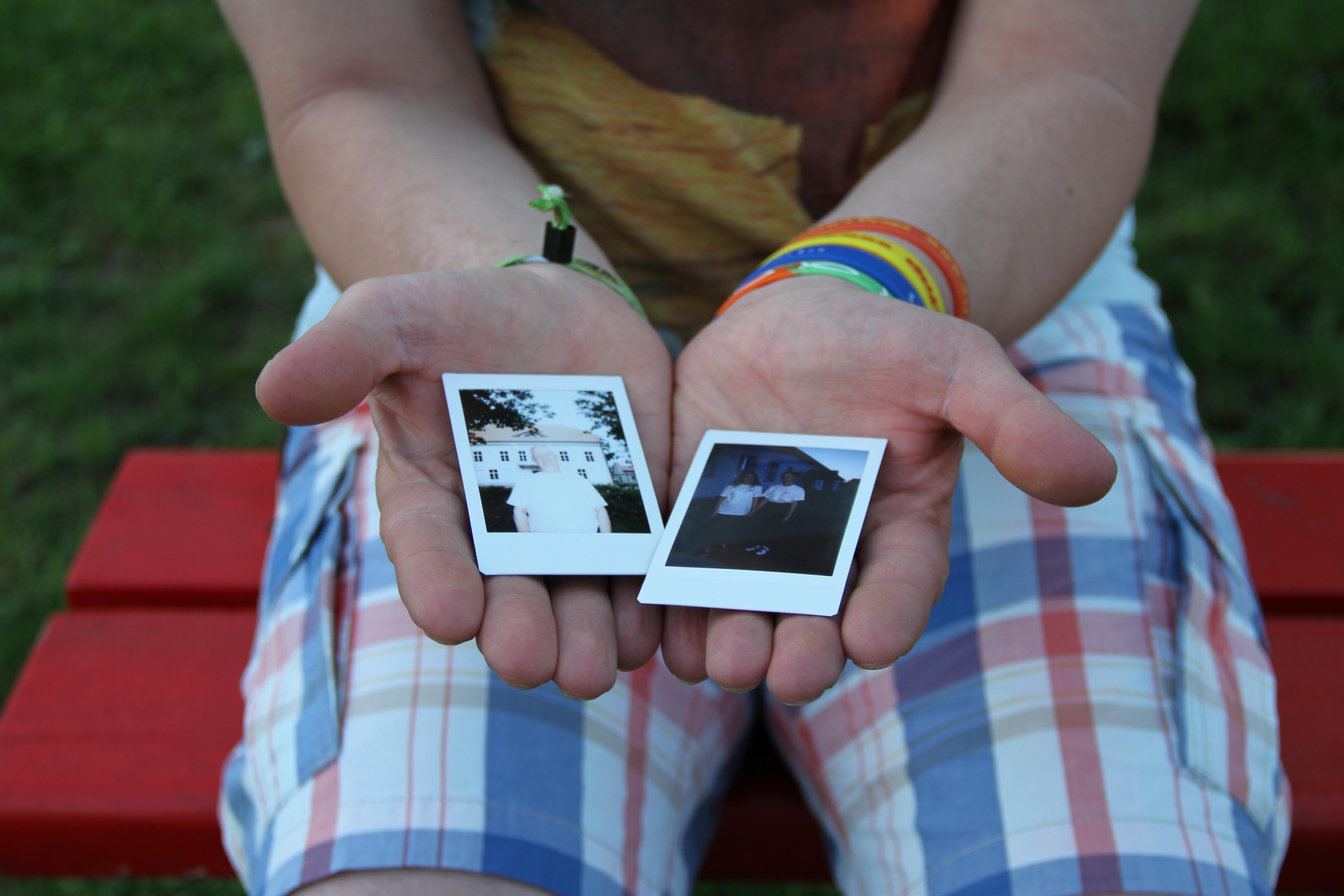 Twee polaroids, twee verhalen © IJD