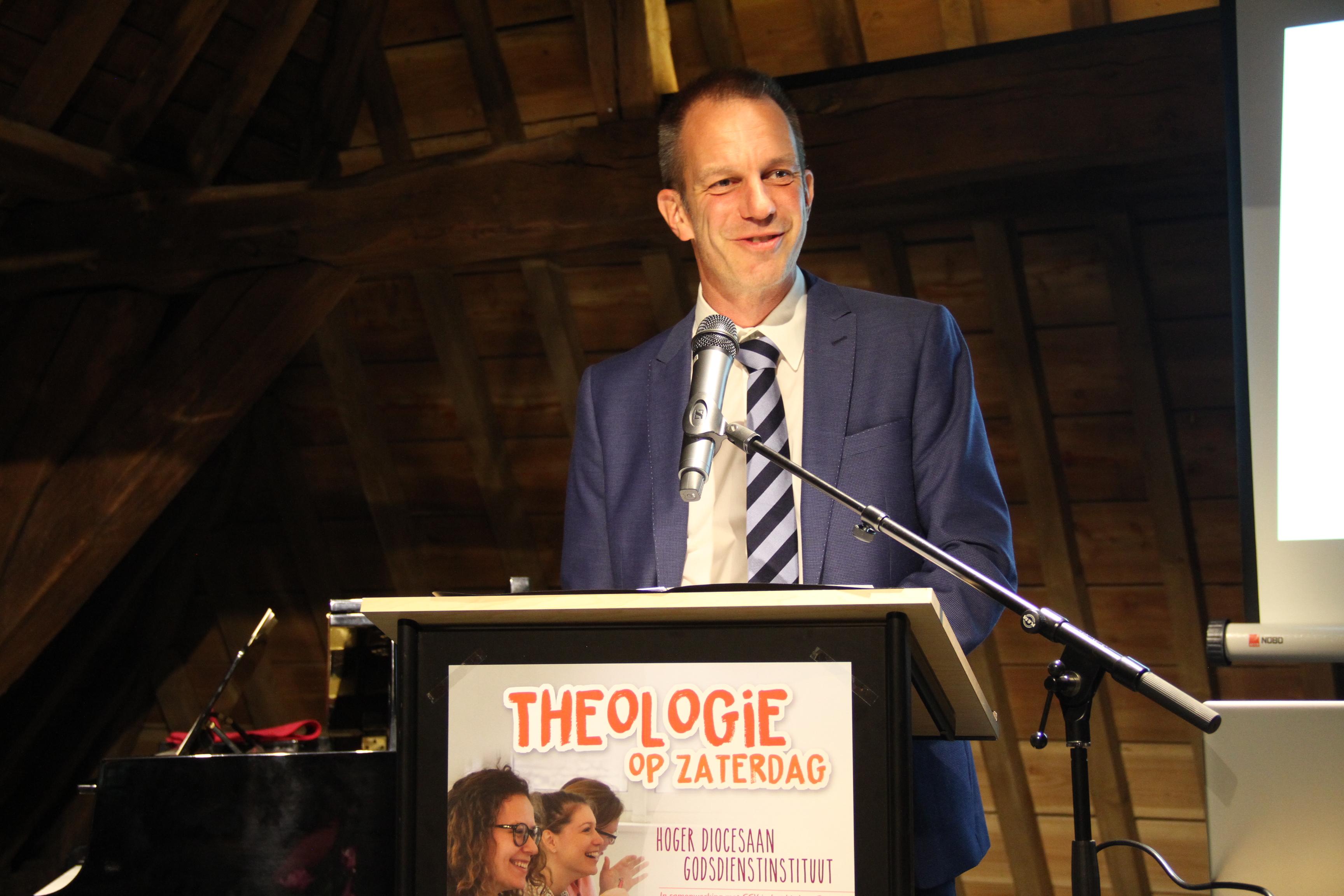 Dieter Van Belle, voorzitter HDGI © Bisdom Gent, foto: Ellen Eeckhout