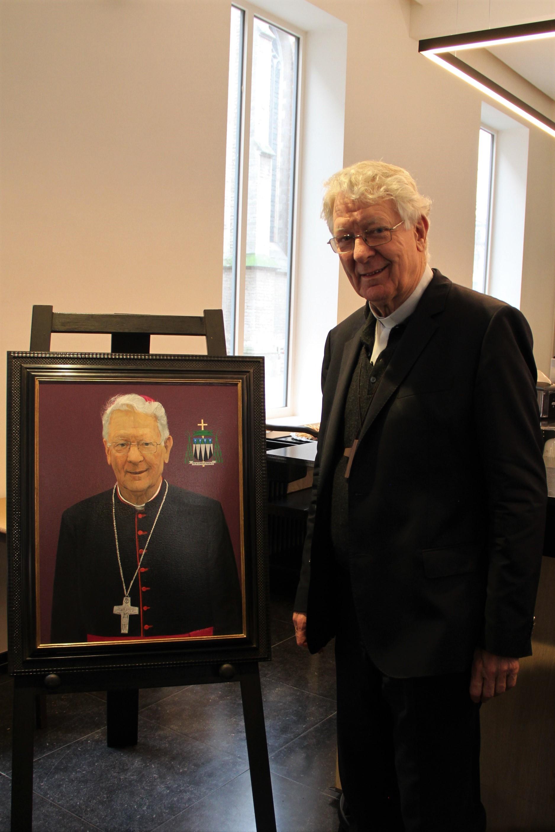 Portret bisschop Luc Van Looy © Bisdom Gent, foto: Ellen Eeckhout